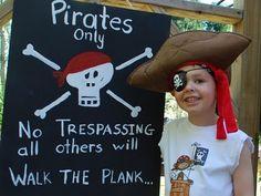 Cute pirate party
