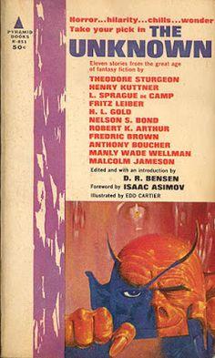 El Descanso del Escriba: The Unknown: Antología de la revista pulp Unknown ...