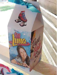 SD Eventos: SOY LUNA PARA LUCY!! Candy Bar Soy Luna Mesa dulce Soy Luna Sweet table Soy Luna Cajitas golosineras Souvenir Party favor