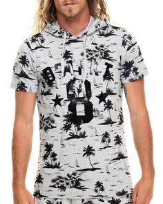 Love this Palm Tree print s/s hoody tee on DrJays and only for $25.99. Take 20% off your next DrJays purchase (EXCLUSIONS APPLY). Click on the image above to get your discount.