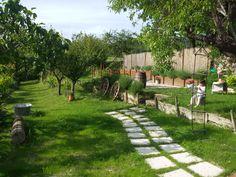 la nostra vigna e il giardino