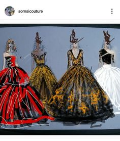 Couture, Painting, Art, Art Background, Painting Art, Kunst, Paintings, Performing Arts, Haute Couture