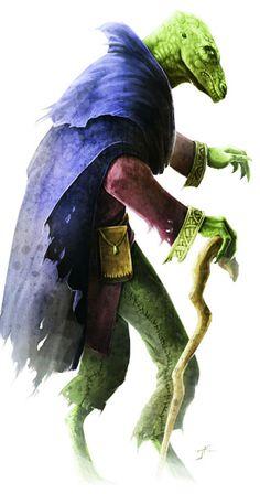 Ptolus Lizardfolk