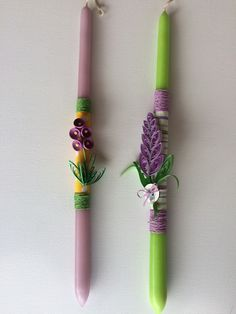 Easter handmade candles decorated with quilling creations Handmade Candles, Handmade Decorations, Light Decorations, Paper Quilling, Quilling Ideas, Easter Crafts, Easter Ideas, Quilling Techniques, Paper Art