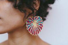 The Charlotte Earring by ARTZandECO on Etsy