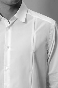 Guayabera by lina cantillo fashion details, men's fashion, man shirt, shirt style, Formal Shirts For Men, Men Formal, Casual Shirts, Tailored Shirts, Mens Designer Shirts, Designer Clothes For Men, Indian Men Fashion, Mens Fashion, Fashion Outfits