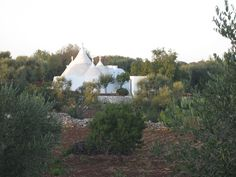 Distant view of Trullo