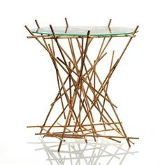 BLOW UP BAMBOO TABLE. This may be purchased on ecovolvenow.com