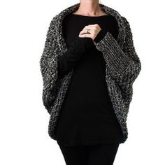 Cocoon Knitting Pattern... to knit with or without sleeves?!