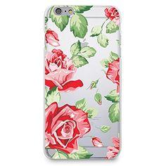 CasesByLorraine Rose Flower Matte Transparent Clear PC Case Floral Hard Back Case Cover for iPhone 6 (P27) CasesByLorraine http://www.amazon.com/dp/B00UWXNCQY/ref=cm_sw_r_pi_dp_zTHevb0KTRHF8