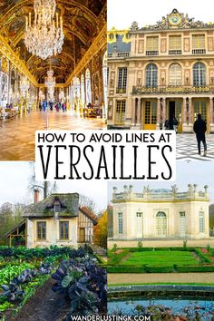 Planning your visit to Versailles France? Read travel tips for Versailles, including how to visit Versailles on a budget and how to avoid lines at Versailles, the perfect day trip from Paris! Paris Travel Tips, Europe Travel Tips, Travel Guides, Travel Hacks, European Travel, Budget Travel, Travel Deals, Travel Advice, Travel Essentials