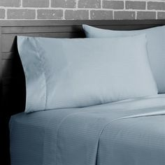 Heritage Home Fashions GP 1000TC Dobby Grand Patrician 1000-Thread Count Sheet Set with Dobby Stripe