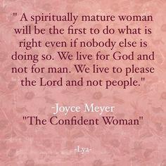 I am a Confident Woman.......I Live for God