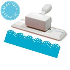 Perforatrice bordure dentelle brodée de Martha Stewart - Perforatrice loisirs créatifs et Perforatrice Scrapbooking