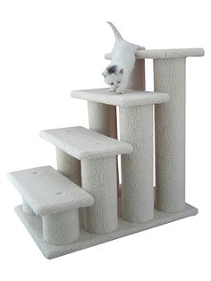 Armarkat Pet Steps Stairs Ramp for Cats and Dogs >>> Trust me, this is great! Click the image. : Dog Beds and Furniture