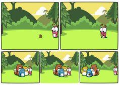 Noble Nutlings comic  #apps #games #mobilegames #mobile #ios #iphone #noblenutlings