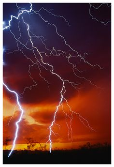 Thunder and Lightning by Joelle McAndrew on Etsy Pictures Of Lightning, Storm Pictures, Fuerza Natural, Thunder And Lightning, Lightning Storms, Wild Weather, Blitz, Lightning Strikes, Natural Phenomena