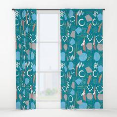 Pattern 5 B Window Curtains