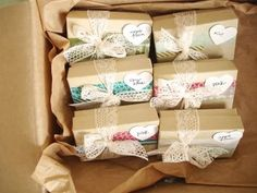 Simple and cheap decorating ideas add charm and elegance to gift boxes and turn even inexpensive and small presents into very special and unique gifts