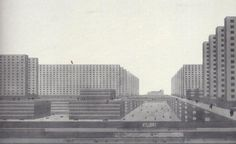 Ludwig Hilberseimer Vertical City 1924-29
