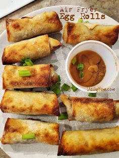Crispy Air Fryer Egg Rolls