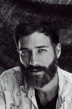 Just look at those eyes and (oh gawd) that beard!
