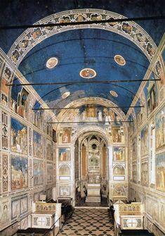 Giotto's Arena Chapel (Cappella Scrovegni), Padua, Italy