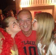 Met papa en zus wk2014