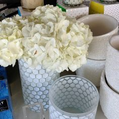 Fill our Honeycomb Vases with flowers, candles or anything that Mom would love - a perfect part of any Mother's day gift!