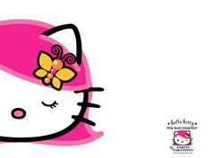 Pink-Head-hello-kitty-wallpaper