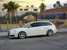 B7 avant with RS4 rims