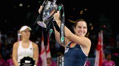 2016 WTA Finals Singapore Final Highlights:   Domi beats World No.1 Angie | Via WTA: 10/30/16