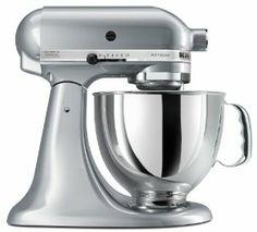 Wedding gift:KitchenAid KSM150PSMC Artisan Series 5-Quart Mixer, Metallic Chrome