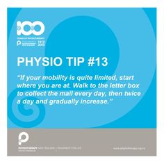 start where you're at #physiotips #100years