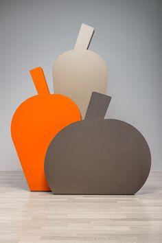Fruit, in versione naturale, orange e tortora | design robertopamio+partners www.staygreen.it