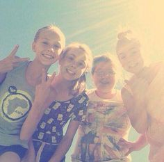 Me,Leigh-Ann,Talicia and Holly