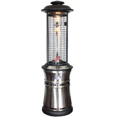 Lava Heat Ember Collapsible Liquid Propane Gas Patio Heater Finish:  Stainless Steel EMBER SS