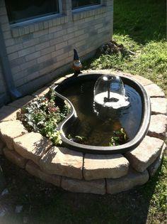Billedresultat for how to build a raised pond