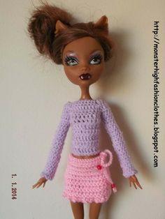 If you like this, visit my shop: http://mymonsterhighboutique.dawanda.com Ropa de Monster High s200 von My Monster High boutique auf DaWanda.com