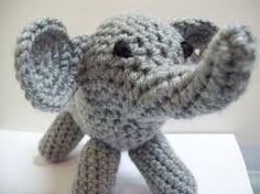 crochet elephant pattern - Google Search