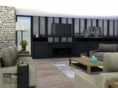The Sims Resource: Niobium Living by wondymoon