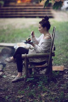 Location: The Barn in Tivoli Hobo meals over the campfire Kinfolk