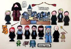Harry Potter Deluxe Felt Board Story Set por byMaree en Etsy