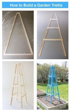 Your vining plants will love to climb this DIY Garden Trellis brought to you by the Menards Garden Center http://www.menards.com/main/c-19520.htm