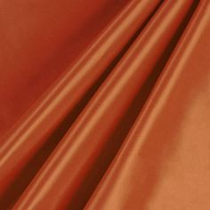 Deep Orange Silk Taffeta Fabric
