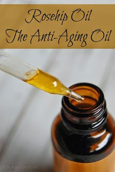 Rosehip Oil - The Anti-Aging Oil