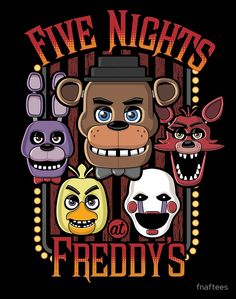 Five Nights At Freddy's Pizzeria Multi-Character by fnaftees