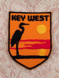 Key West Vintage Travel Patch by Voyager by HeydayRetroMart, $7.50