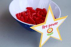 Super Mario Party - Fire Power.