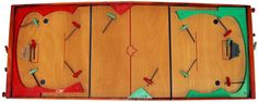]Games Ltd. first introduced a mechanical table top hockey game in 1956